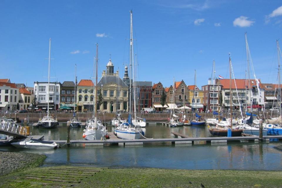 West Vlaanderen haven Vlissingen
