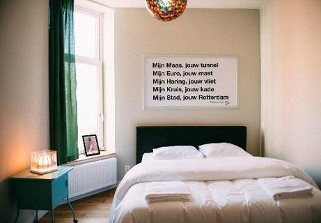 Overnachten in het King Kong Hostel in Rotterdam