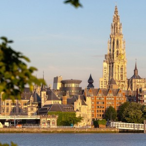 Strand in Antwerpen