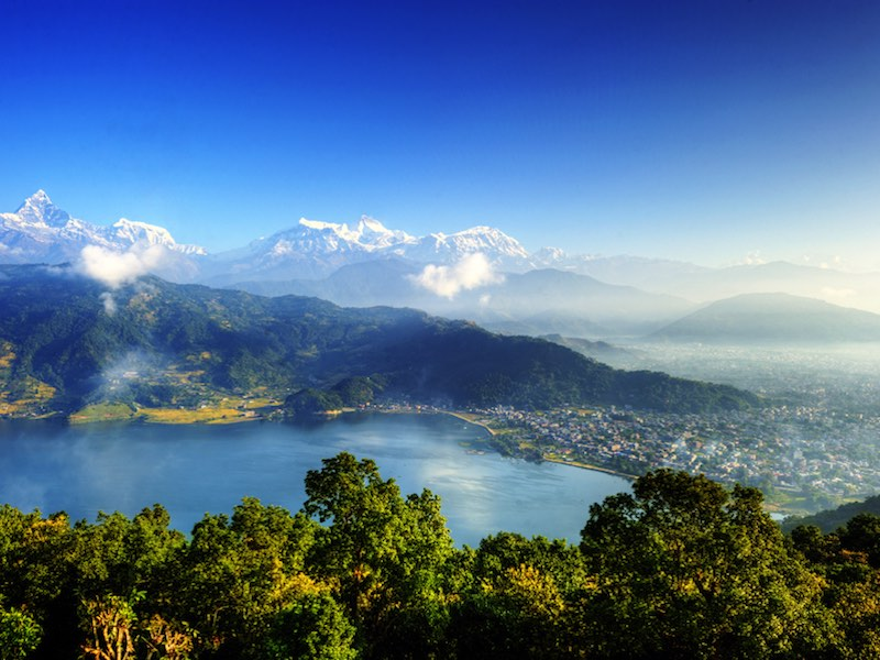 Busreizen in Nepal