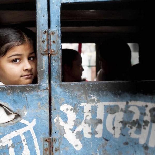 """""""Overweldigend en echt"""": Fleur liep stage in India"""