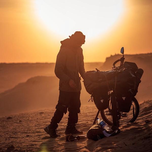 Fietsend op wereldreis: Zahariz, de Maleisische nomade