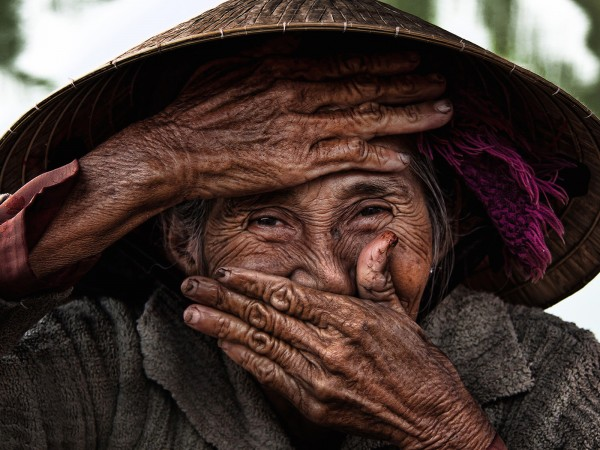 Hidden smile in Vietnam
