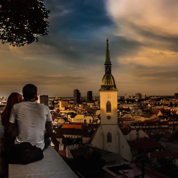Te voet door de Slowaakse hoofdstad Bratislava