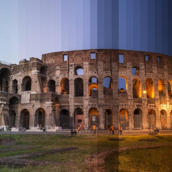 Dag en nacht gevangen in één foto in Time Sliced