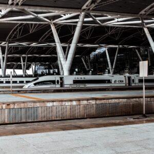 trein door China