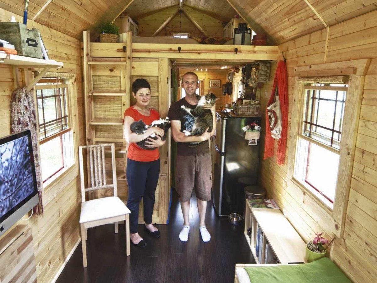 Wonen In Een Tiny House Op Wielen De Ultieme Vrijheid