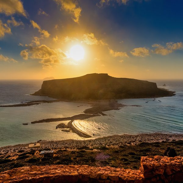 Cruisen naar Kreta's schiereiland Gramvousa