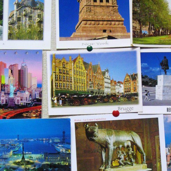 De wereld in kaartjes met Postcrossing