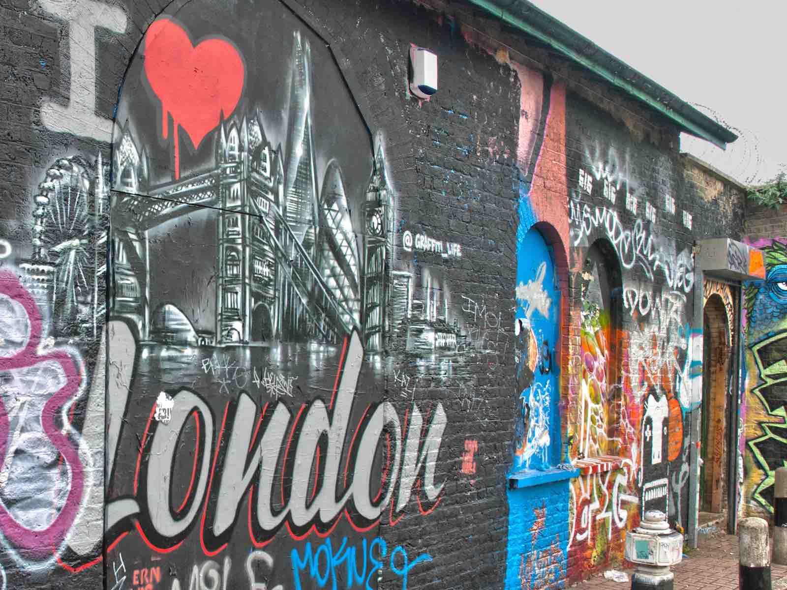 adresjes in Londen