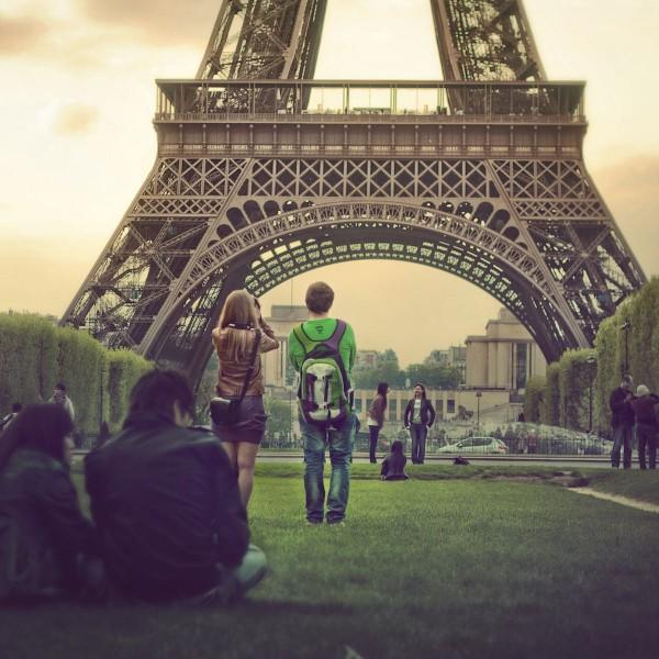 Platzak naar de stad van de liefde: lowbudget Parijs