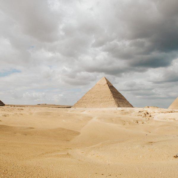 7 wereldwonderen: de piramides van Giza