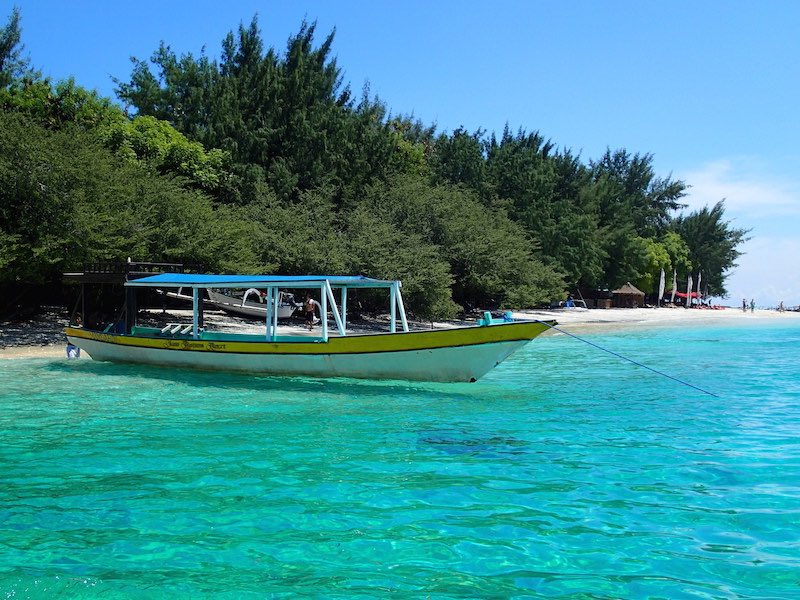 low budget op de Gili eilanden