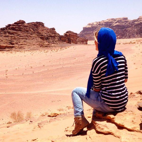 Fotodagboek: door Jordanië over de Desert Highway