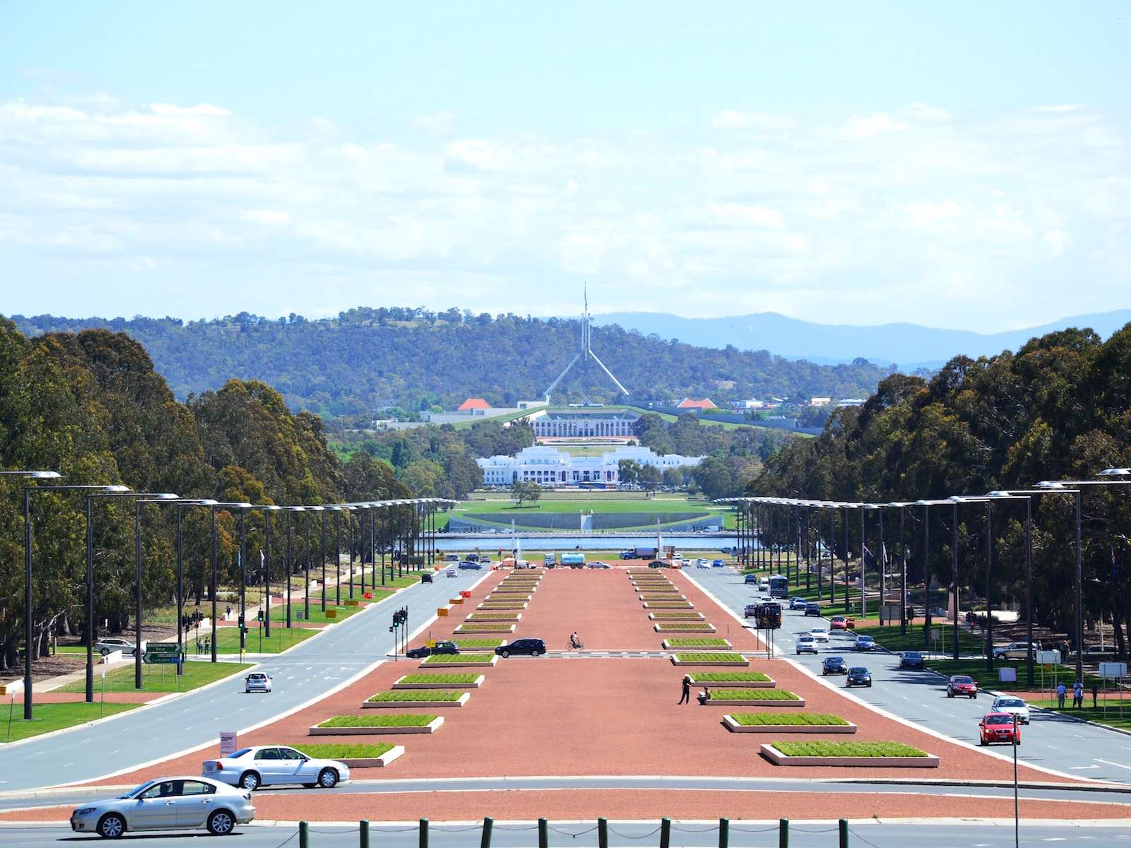stedentrip Canberra