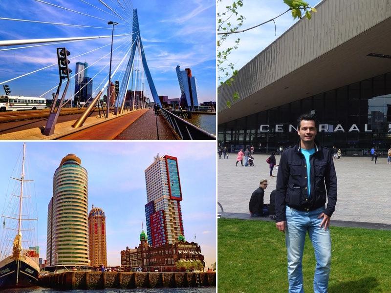 hotspots van Rotterdam