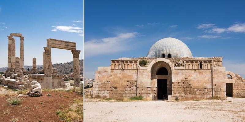 bezienswaardigheden in Amman