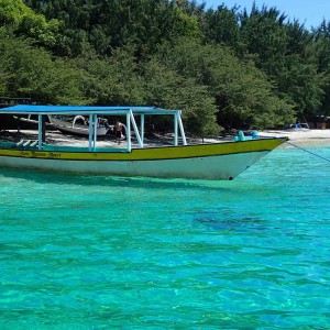 lowbudget op de Gili eilanden