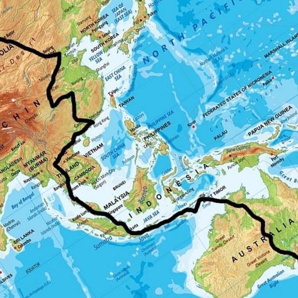 Van Roosendaal naar Rosedale door 15 landen