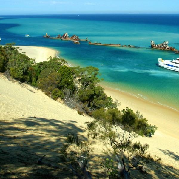 Moreton Island: een paradijsje nabij Brisbane