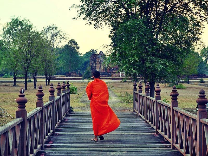 bezoek aan Sukhothai