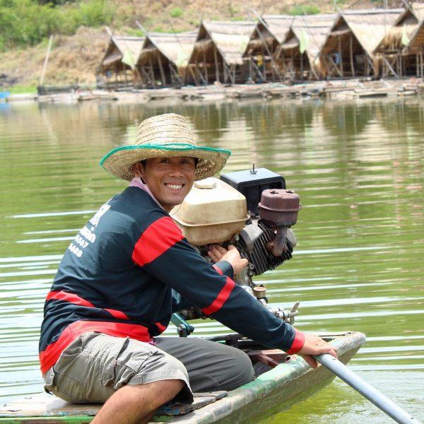 Ver van toeristisch Thailand in de provincie Loei