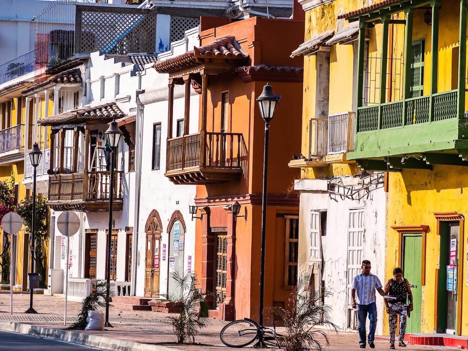 reis door Colombia