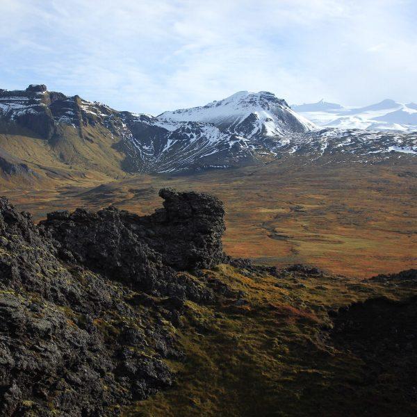Snæfellsnes, de ansichtkaart van IJsland