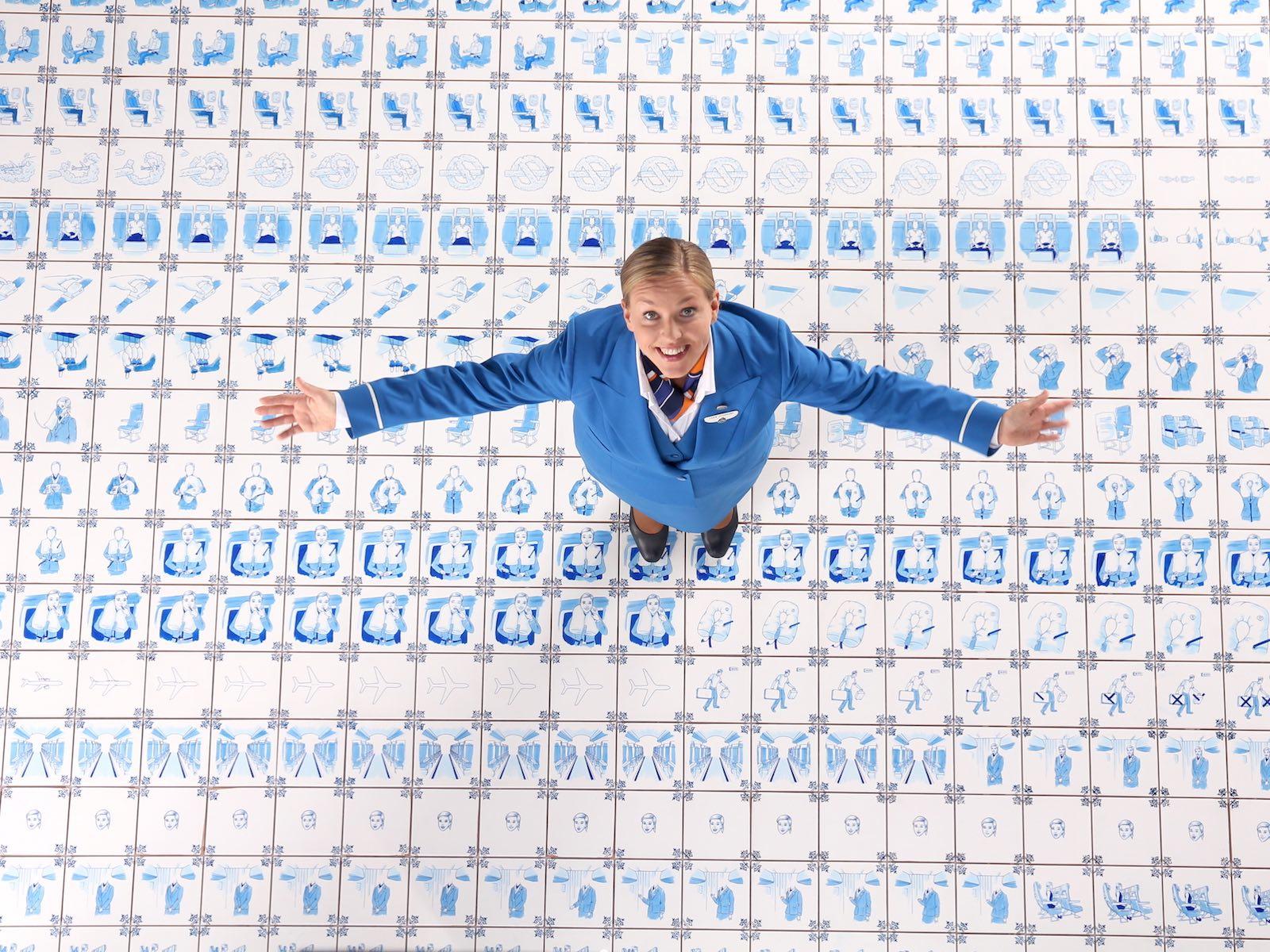KLM safety film