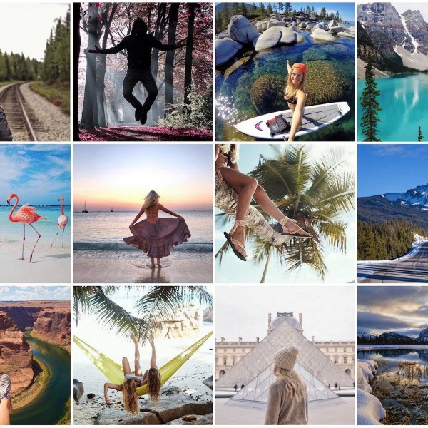 Travel instagram accounts om bij weg te dromen