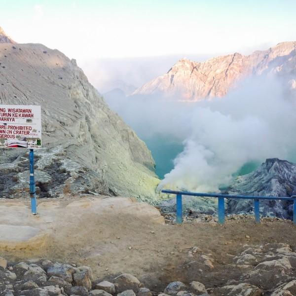 Kawah Ijen, de mooiste vulkaan van Indonesië