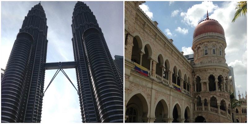 route door Maleisië