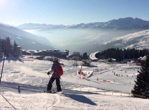 wintersporten in les Arcs