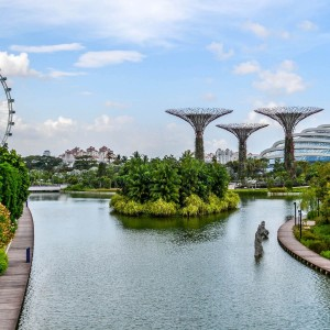 backpacken in Singapore