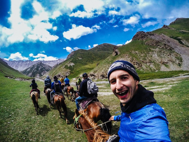 reis naar Kyrgyzstan