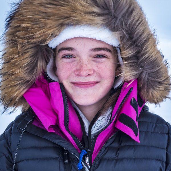 """Jade Hameister (14) trotseerde de Noordpool: """"Alsof je op een andere planeet bent"""""""