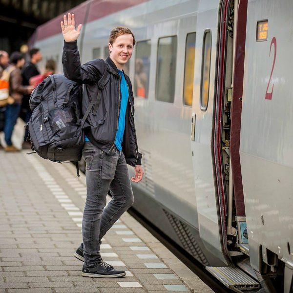 Extreem Interrailen: Koen bezocht 30 landen in 30 dagen