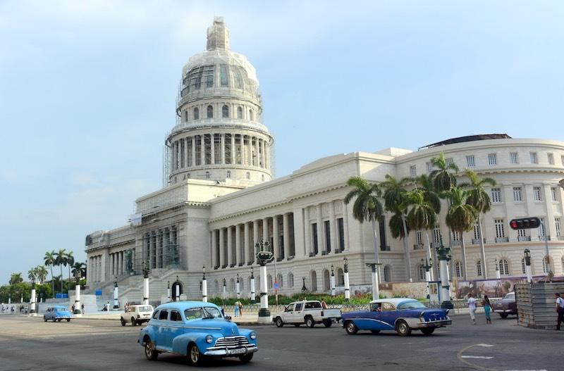 fietsen in Havana
