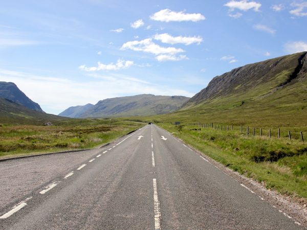 Autoroutes in Schotland
