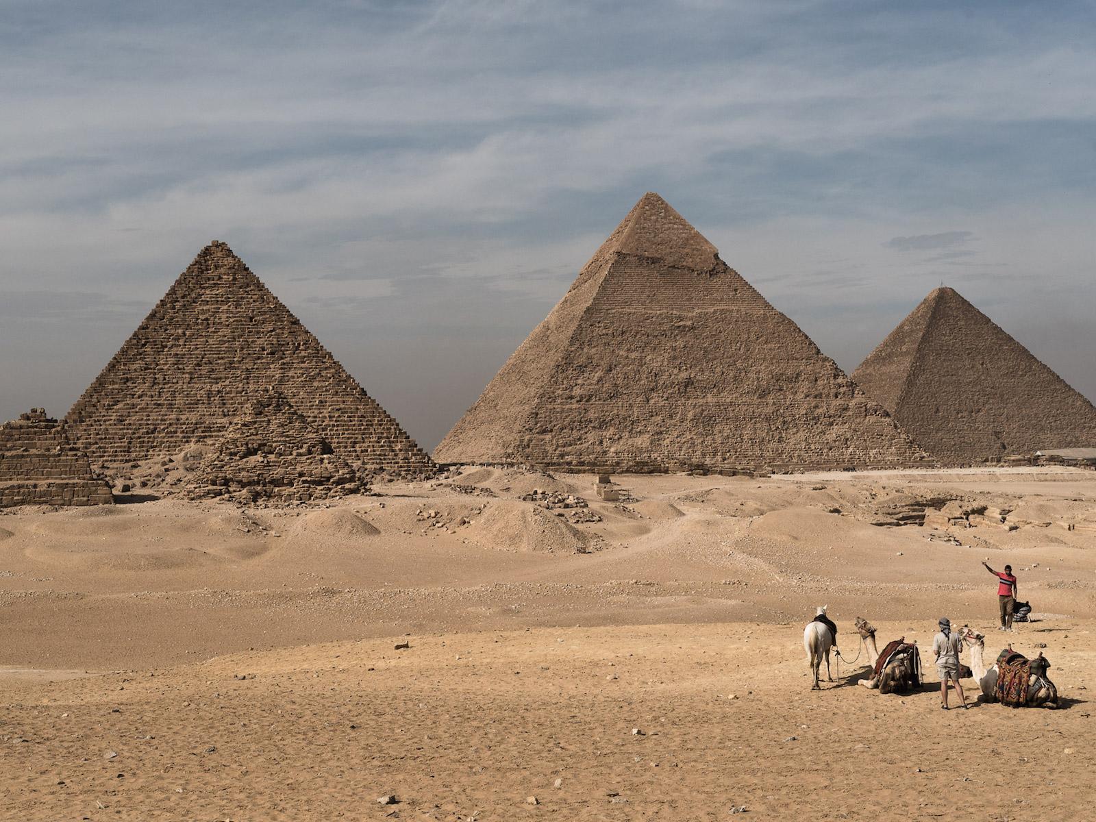 vakantie in Egypte