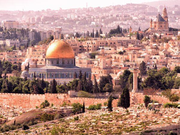 bestemming Israël