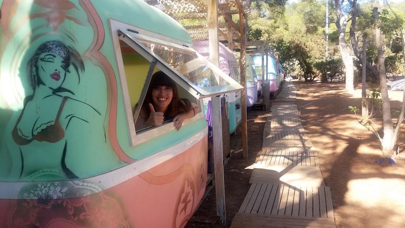 hippie op Ibiza