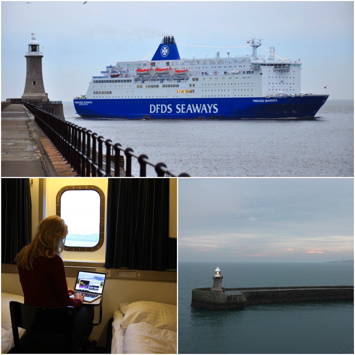 boot naar Newcastle