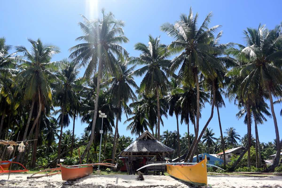 surfen op de Filipijnen