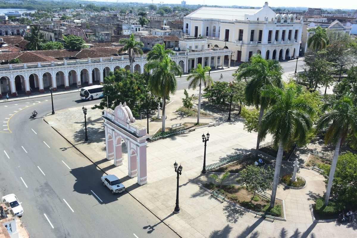 reisroute door Cuba