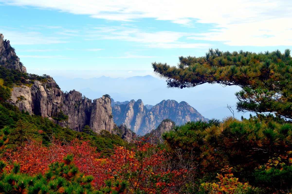bezoek aan Huangshan