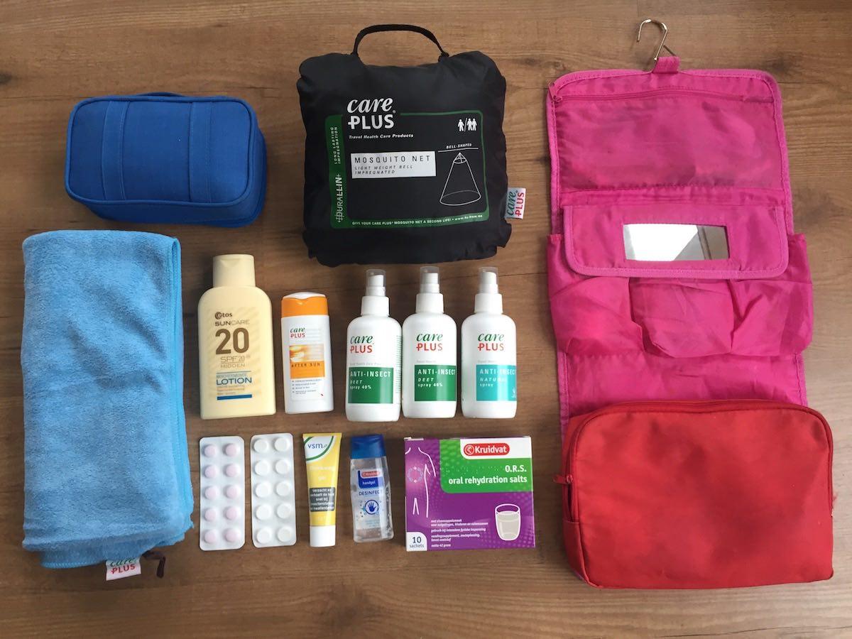 backpack inpakken als digital nomad
