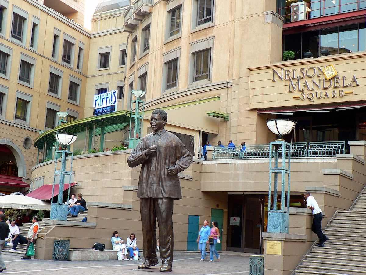 bezoek aan Johannesburg