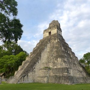 reisroute door Guatemala