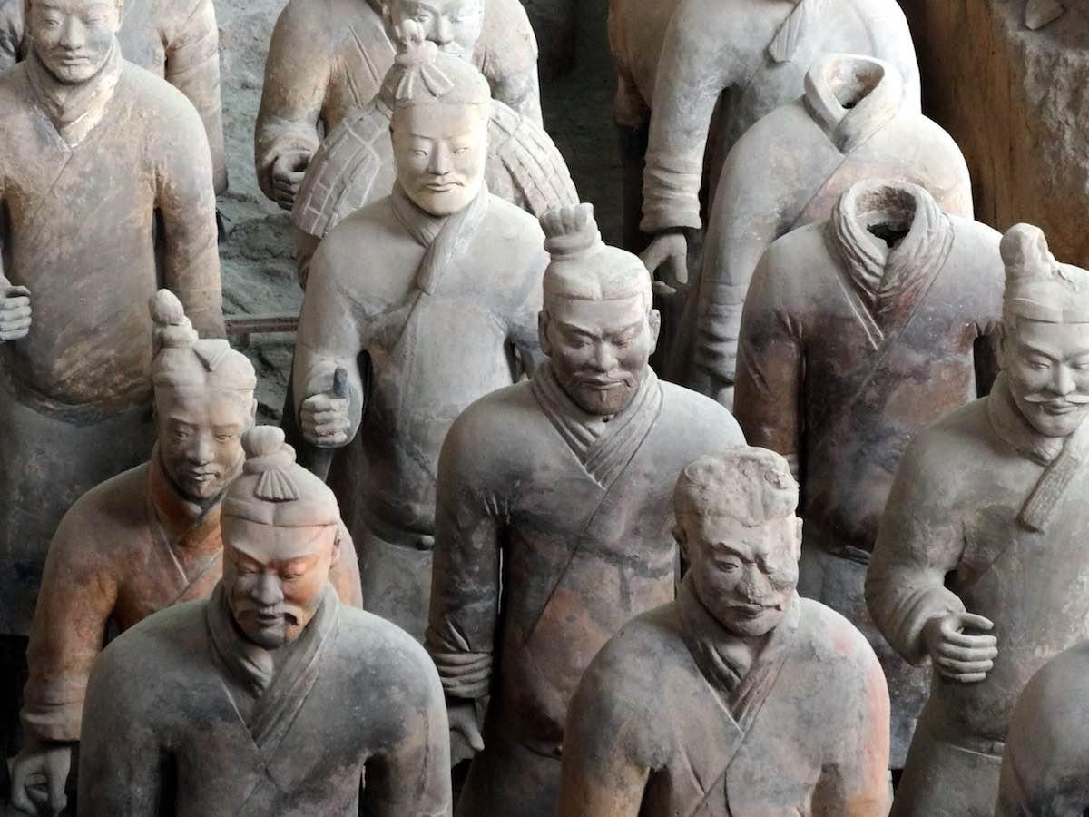 reisroute door China